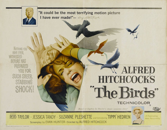 IMAGE: The Birds lobby card / poster