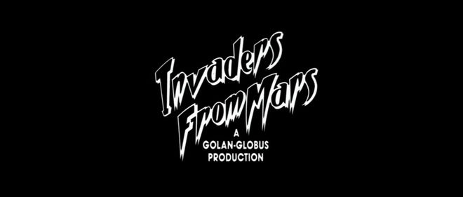IMAGE: Invaders from Mars (1986) End Title Card