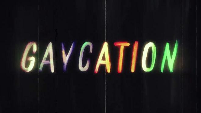 IMAGE: Gaycation Logotype