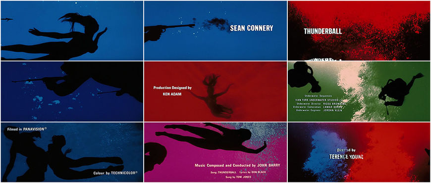 VIDEO: Thunderball title sequence