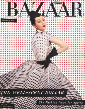 IMAGE: Alexey Brodovitch Harper's Bazaar Cover