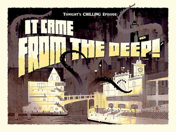 Amazing Adventures of Kid Cole & Klay - Title card artwork