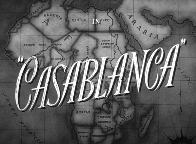 VIDEO: Title Sequence – Casablanca (1942)