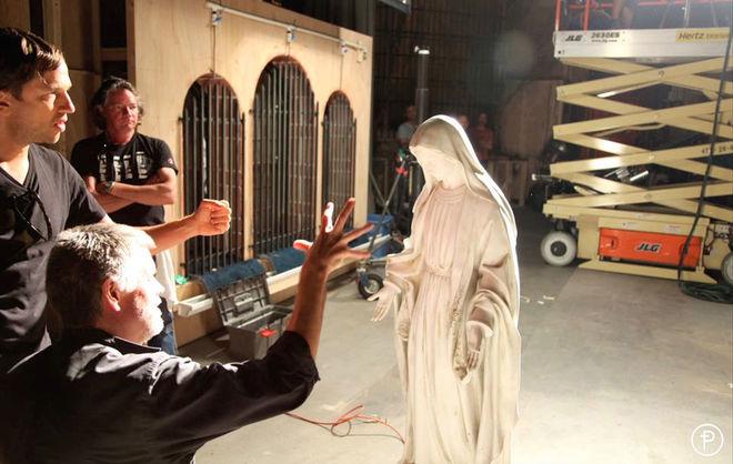 IMAGE: American Horror Story: Asylum (2012) Behind the Scenes 2