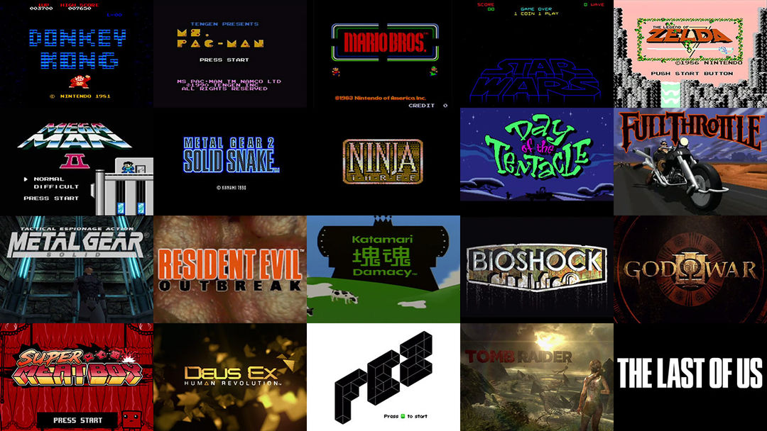 A Brief History Of Video Game Title Design Art Of The Title - Game design brief