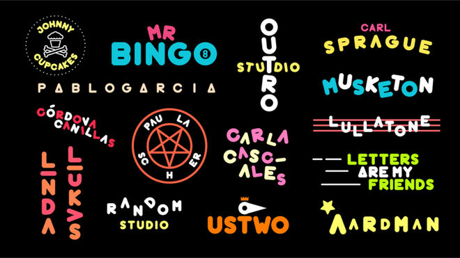 IMAGE: OFFF Barcelona 2016 Type Designs