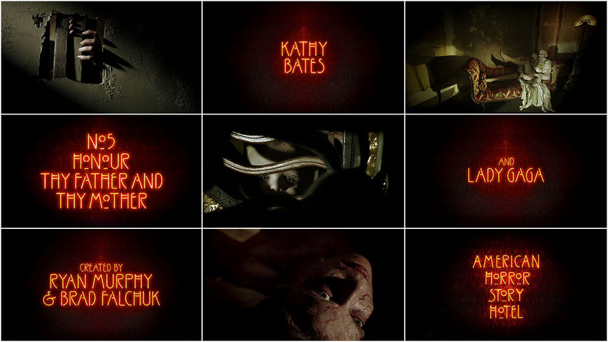 VIDEO: Title Sequence – American Horror Story: Hotel (2015)