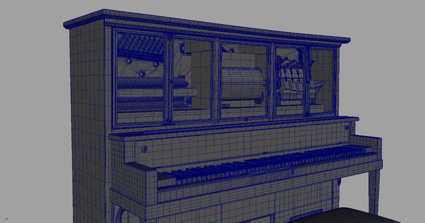 IMAGE: Westworld Piano Render 2