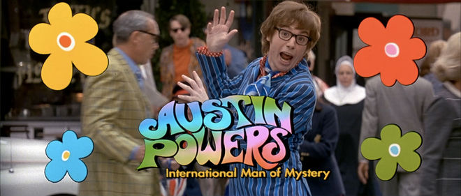 IMAGE: Austin Powers 1 title card