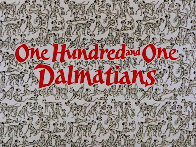VIDEO: Title Sequence – 101 Dalmatians (1961)