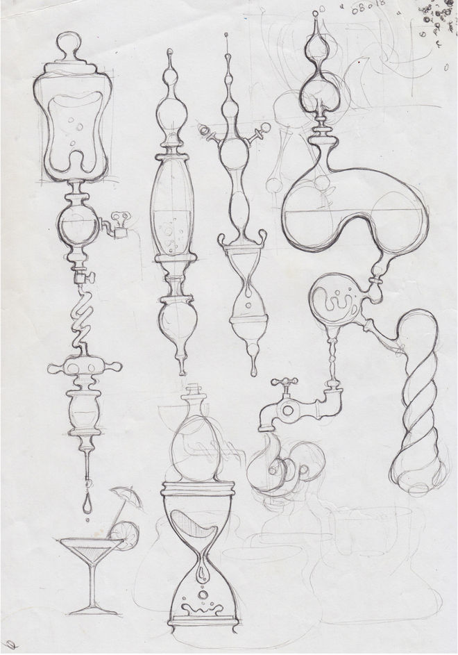 IMAGE: Sketch –Organic forms