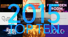 Top 10 Title Sequences of 2015