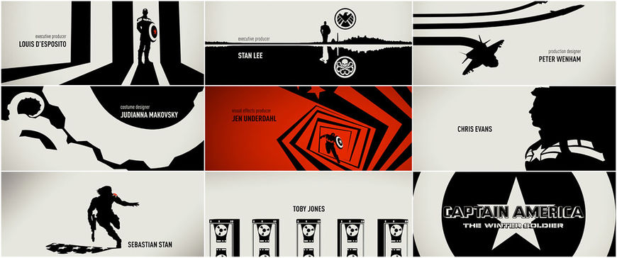 VIDEO: Title Sequence - Captain America Winter Soldier