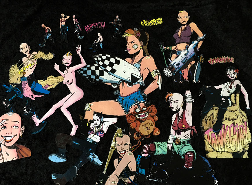 IMAGE: Tank Girl cutouts – 4 missile bra