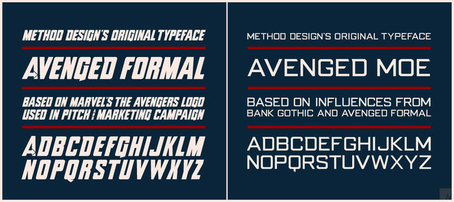 Typeface samples
