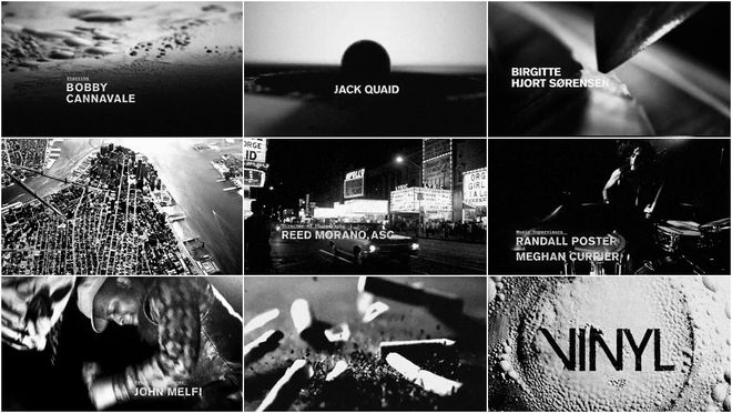 VIDEO: Title Sequence – Vinyl