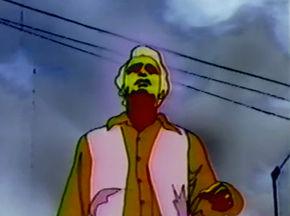 IMAGE: Still from The Stranger Levi's commercial by Snazelle Films