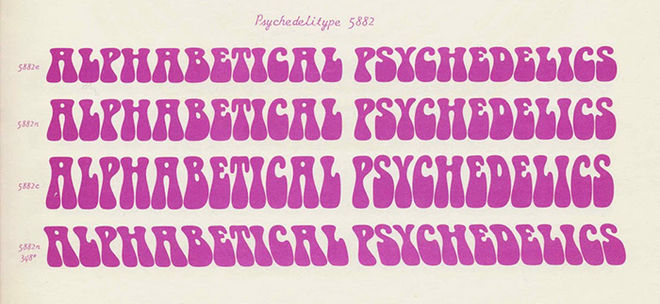 IMAGE: Typeface artefact - Psychedelitype 5882