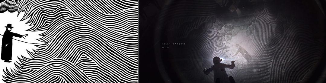 IMAGE: Stanley Donwood The Eraser album cover