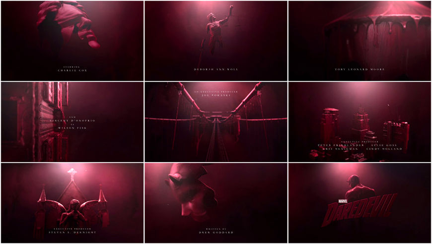 VIDEO: Title Sequence – Marvel's Daredevil (2015)