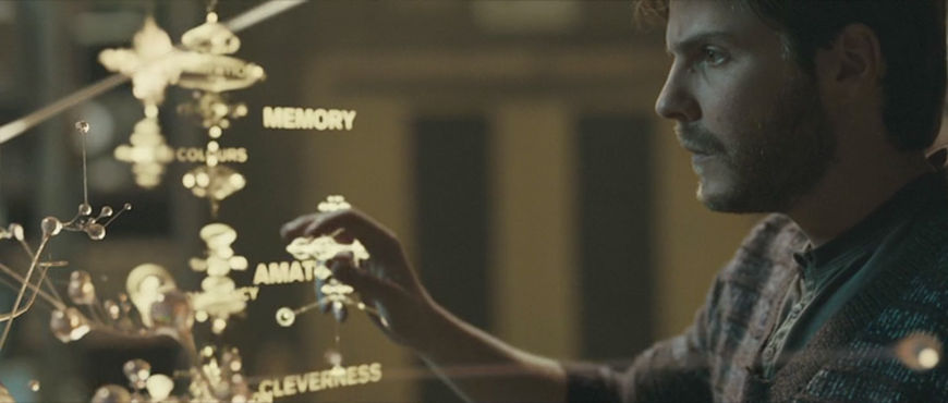 """IMAGE: Still from movie - """"Hand Up"""" interface 3"""