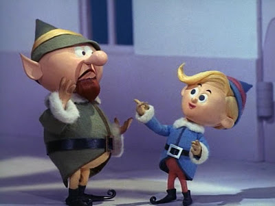 IMAGE: Elf characters/costumes from Rudolph the Red-Nosed Reindeer