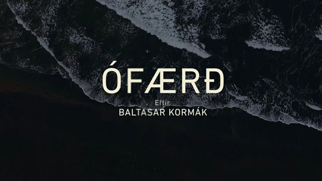 IMAGE: Title Card – Ófærð in Icelandic
