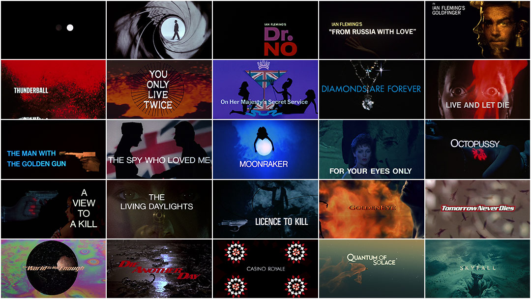 James Bond 50 Years Of Main Title Design Art Of The Title