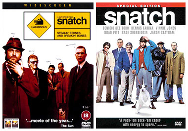 I: Snatch DVD cover art