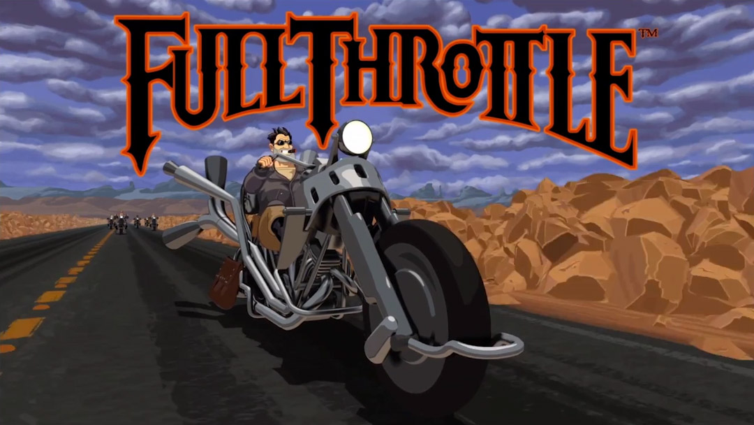 VIDEO: Title Sequence – Full Throttle Remastered (2017)