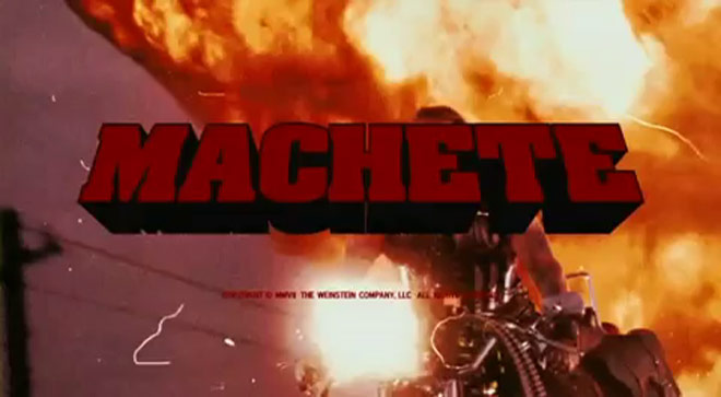Original Machete Grindhouse trailer (NSFW)