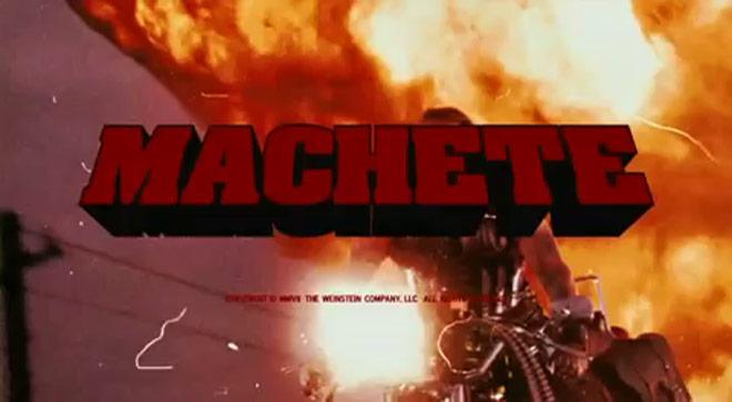Original Machete Grindhouse trailer (NSFW)