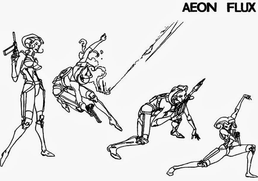 IMAGE: Aeon Flux Character Sketch 02