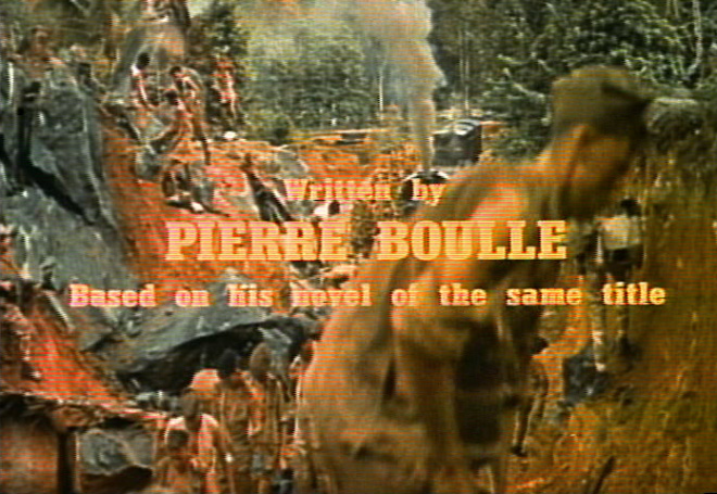 IMAGE: The Bridge on the River Kwai (1957) Original Writing Credit