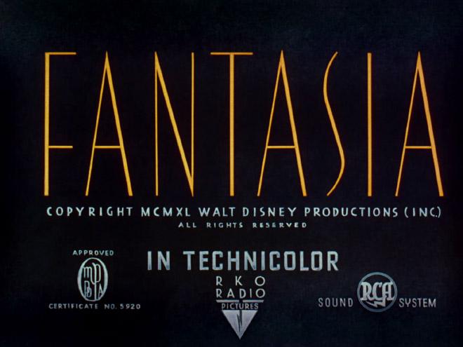 IMAGE: Fantasia Title Card