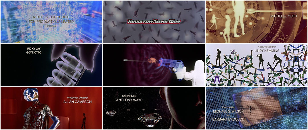 VIDEO: Title Sequence –Tomorrow Never Dies (1997)